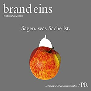 brand eins audio: Kommunikation/PR Audiomagazin