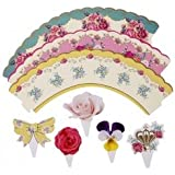 Talking Tables Truly Scrumptious Cakewrap and Toppers