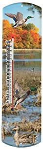 Heritage America by MORCO 375MALD Mallard Duck Outdoor or Indoor Thermometer, 20-Inch