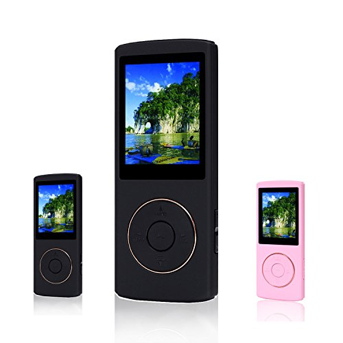 fecpecu-music-player-16gb-mp3-player-48-hours-playback-hi-fi-sound-portable-audio-player-black