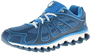 K-Swiss Men's Tubes Run 130 P Running Shoe,Moroccan Blue/Brilliant Blue,13 M US