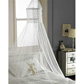 Popsicle Design Bed Canopies in White
