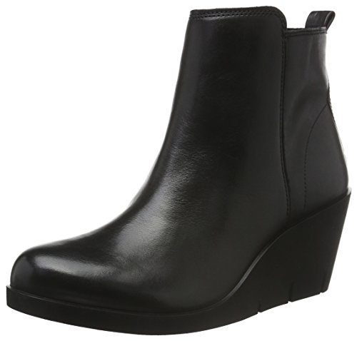Ecco Bella Wedge, Stivaletti Donna, Nero (BLACK1001), 37 EU