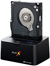 Thermaltake BlacX Hot-Swap SATA External Hard Drive Docking Station for Windows & Mac Os Compatible