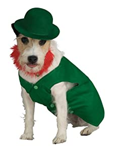 Rubies Costume Rubies Leprechaun Pet Costume, Medium