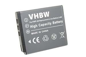 Batterie LI-ION compatible pour FUJIFILM/Olympus XZ-2