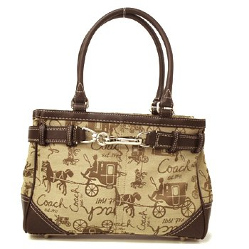 Coach Handbag Print Horse And Carriage