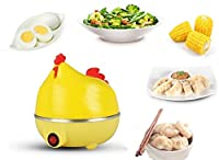 Kitchen Hen 7 Egg Cooker Boiler Steamer Home Machine Egg Boiler With Egg Tray