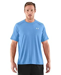 Under Armour Men's UA Tech™ Short Sleeve T-Shirt Medium Carolina Blue