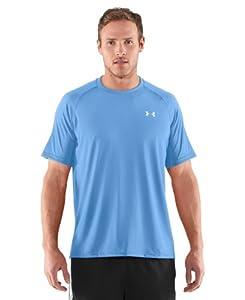 Under Armour Men's UA Tech™ Short Sleeve T-Shirt Medium Carolina Blue