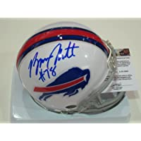 Bruce Smith Buffalo Bills Signed Autographed Mini Helmet Authentic Certified Coa
