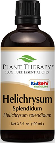 Helichrysum (AFRICAN) Essential Oil. 100 ml (13.3 oz). 100% Pure, Undiluted, Therapeutic Grade.