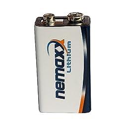 5x Nemaxx lithium 9V battery for smoke detectors 10 years life span from Nemaxx