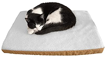 Purrvana Electric Heated Pet Bed; Thick, Fluffy Heated Pet Mat; 58x43cm Size; Superior Quality Electric Heated Cat Bed and Ideal Heated Dog Pad; 100% Money Back Satisfaction Guaranteed!