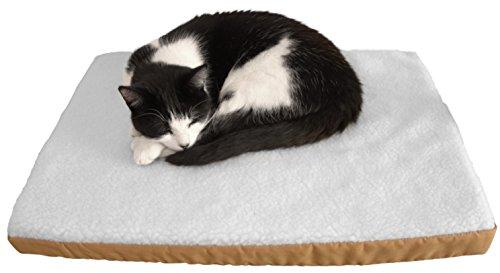 purrvana luxury heated pet bed