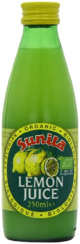 Sunita Organic Lemon Juice (Pack of 12)