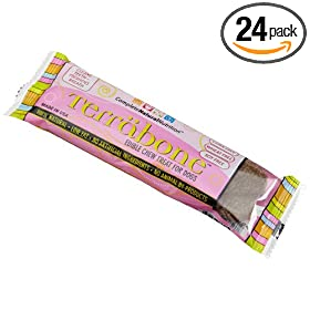 Complete Natural Nutrition Terrabone Fresh Breath Daily Treat for Dogs, 2.23-Ounce Regular Size Bones (Pack of 24)
