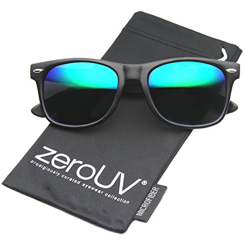 reflective aviator sunglasses  matte reflective