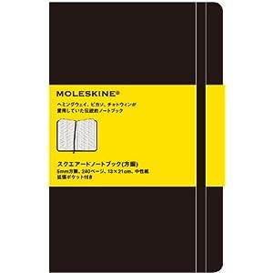 MOLESKINE モレスキン スクエアードノートブック・方眼・ラージ ([文具])