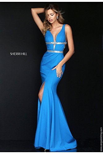 sherri-hill-50184-peacock-blue-silver-deep-v-plunge-neckline-uk-6-us-2