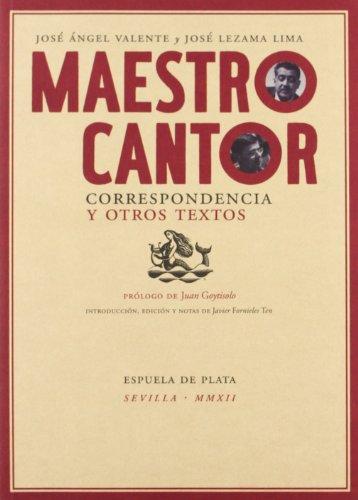 Maestro cantor. Correspondencia y otros textos (Otros títulos)