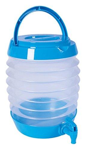 milestone-bottiglia-da-campeggio-pieghevole-in-dispenser-colore-blu-5-litri