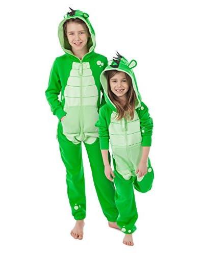 ZipUps Tuta Monopezzo Turtle [Verde]