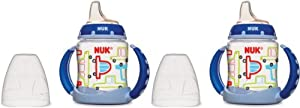NUK Learner Cup Silicone Bundle Pack, Boy, 5 Ounce, 2 Count