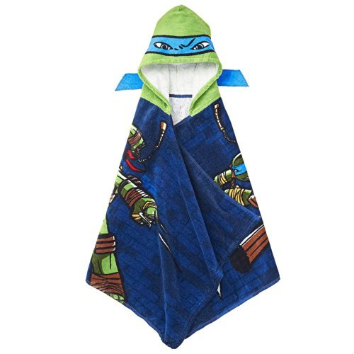 Teenage Mutant Ninja Turtles Hooded Towel - Leonardo