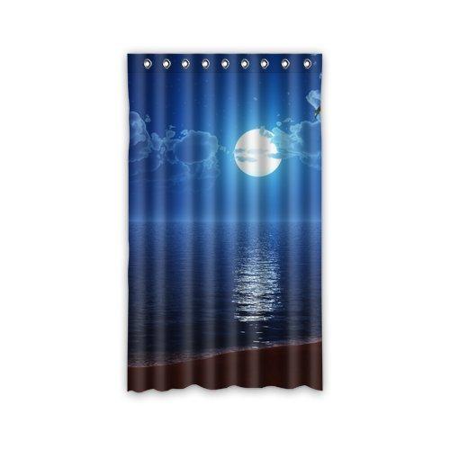 Generic personalizzare, motivo: Luna-Tenda per finestra, per soggiorno, camera da letto, Tenda in poliestere, per finestra, stanze bambini 127,00 (50 cm x 1 cm ((84 213,36 pezzo)