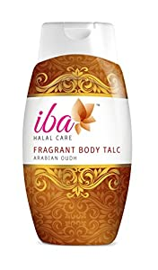 Iba Halal Care Fragrant Body Talc Arabian Oudh, 300g