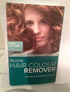 ProVoke Professional Hair Care Hair Dye Colour RemoverStripperEXTRA STRENG