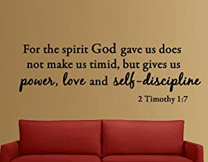 Amazon.com - For the Spirit God Gave Us Does Not Make Us