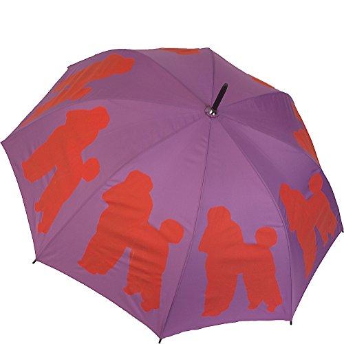 poodle-dog-silhouette-walking-stick-rain-umbrella