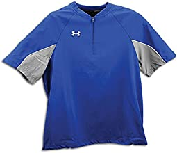 Under Armour Womens 14 Zip Softball Cage Jacket Training Shirt Navy Blue Small