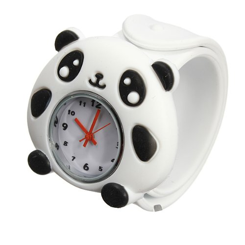 Lovely Bendable 3D Animals Cartoon Watches Kids Children Toy Gift Multi Pattern For Choice