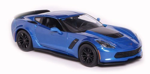 2015 Chevrolet Corvette C7 Z06 Blue 1/24 by Maisto 31133 (Chevrolet Corvette Model compare prices)