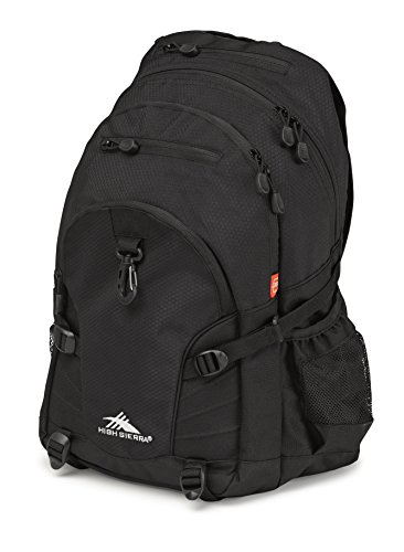 High Sierra Loop Backpack, Black