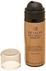 REVLON Photoready Airbrush Mousse Makeup Caramel 1.4 Ounce