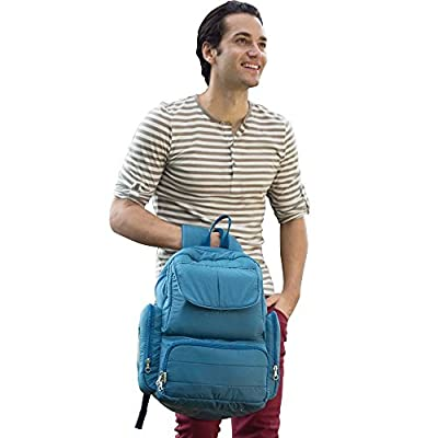 Beebaba Backpack Diaper Bag with Insulated Bottle Pocket, Eco-friendly Series