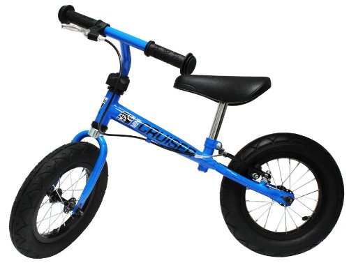 Metro-Fulfillment-House-Mini-Cruiser-Balance-Bike-with-Hand-Brake-Blue