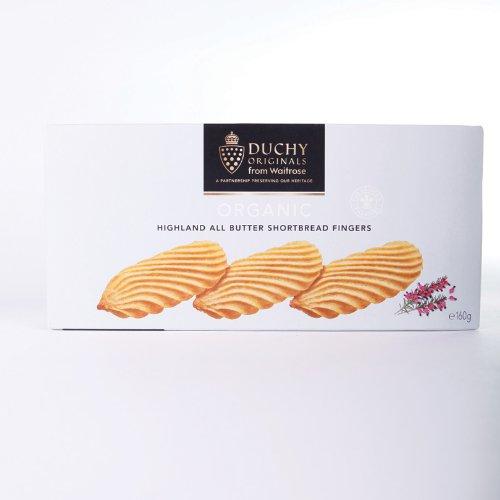 Duchy Originals Shortbread Fingers (160G) Organic Added Sugar