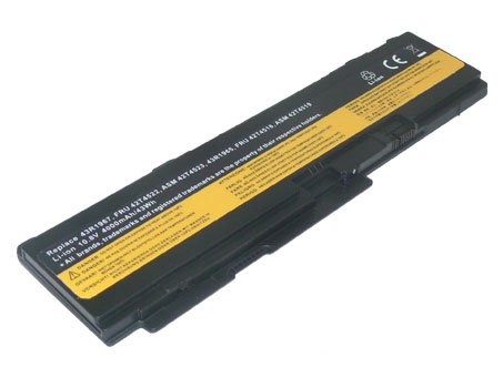 PowerSmart-Replacement-Laptop-battery-for-Lenovo-ThinkPad-X300-X301-Series-Compatible-Part-Numbers-42T4641-42T4643-43R1965-43R1967-ASM-42T4519-ASM-42T4523-FRU-42T4518-FRU-42T4522