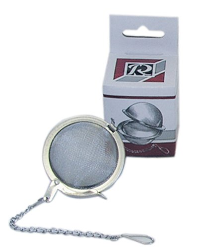 R & M International 4617 Stainless Steel Mesh Tea Strainer Ball, 1-3/4-Inch