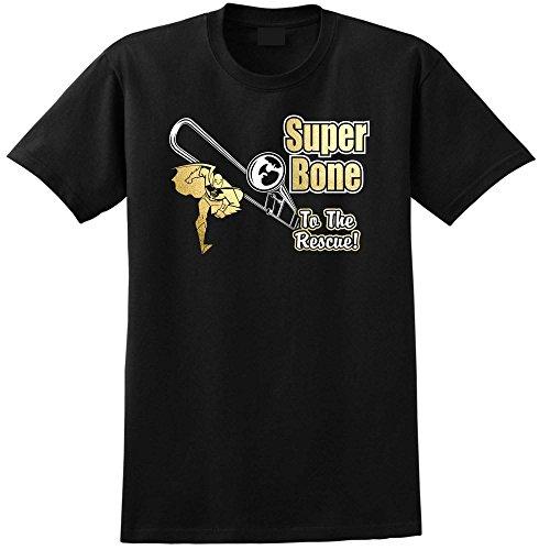 Trombone-Super-Rescue-Music-T-Shirt-13-Gren-5-Jahr-6XL-MusicaliTee