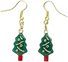 A Christmas Tree DIY Jewelry Making Supply Kit with Instructions