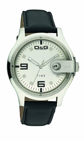 D & G DW0313 Gents Electrical Black strap Watch