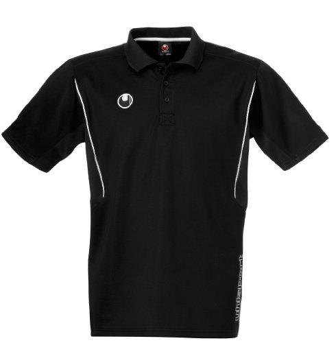Uhlsport-Polo da allenamento, Unisex, Poloshirt Training, nero, L