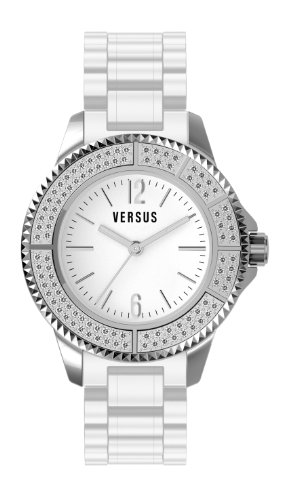 Versus - 3C6410 0000 - Montre Femme - Quartz Analogique - Bracelet Plastique Blanc
