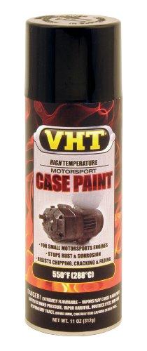VHT SP903 Satin Black Engine Case Paint Can - 11 oz.